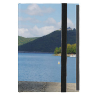 iPad mini covering Edersee with closed forest-hits iPad Mini Cases