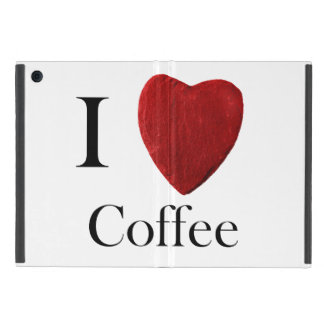 iPad mini covering I love Coffee iPad Mini Case