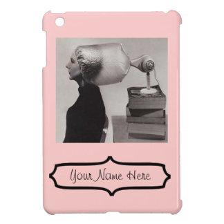 ¡iPad mini - el salón 1960 de pelo rosado del vint iPad Mini Funda