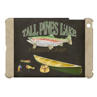 Ipad Mini - Fishing Enthusiast Trout Canoe lures iPad Mini Cases