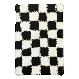 iPad Mini Glossy Finish Case Checkered Design Cover For The iPad Mini