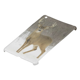 iPad Mini Matte Finish Case, Magnificent Snow Deer iPad Mini Case
