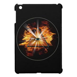 iPad mini mysterious psychedelic flaming eye case iPad Mini Case