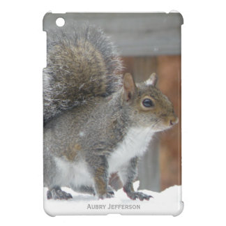 iPad Mini : Personalized Winter Squirrel Case iPad Mini Cases