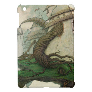 Ipad Mini QPC template with a magic flying island Cover For The iPad Mini