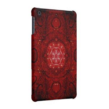 iPad Mini Retina Case (Dramatic Black & Red)