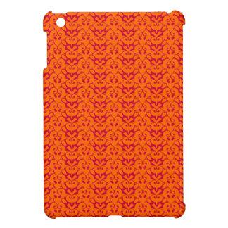iPad mini Romantic and Pop orange fuchsia pattern iPad Mini Cover