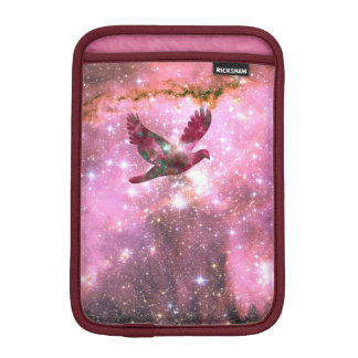 iPad Mini Sleeve Dove Flying Through Nebula Cloud