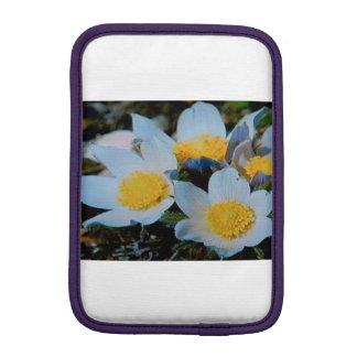IPAD MINI VERTICAL - WHITE FLOWERS iPad MINI SLEEVE