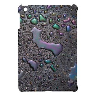 Ipad Mini Very Cool black bkg/water droplets Case For The iPad Mini