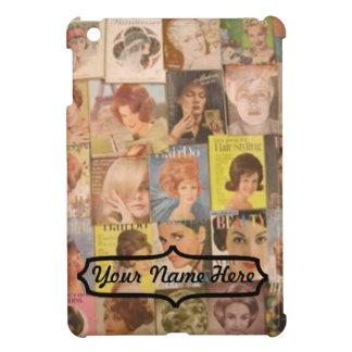 iPad Mini - Vintage 1960 Hair Styles Collage iPad Mini Cover