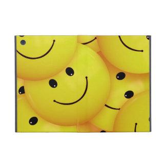 iPad mini yellow smiley faces case Cover For iPad Mini