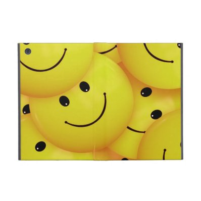 iPad mini yellow smiley faces case iPad Mini Case