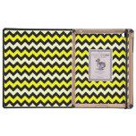 iPad negro amarillo de DODOcase del modelo de la a iPad Protectores