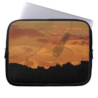 "ipad or 10"", 13"", 15"" laptop case, turntable art computer sleeves"