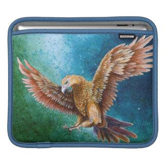 iPad pad Horizontal Luner with eagal art Sleeve For iPads