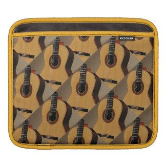 iPad pad Horizontal with Spanish Guitars Sleeve For iPads