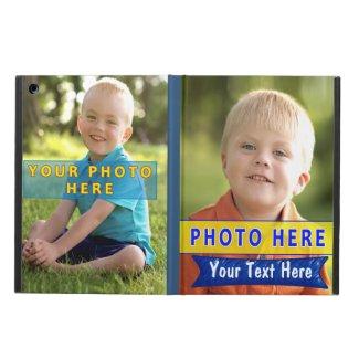 iPad Photo Case Cover, 2 PHOTOS on iPad AIR