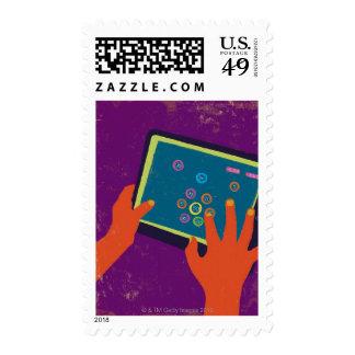 iPad Postage Stamp