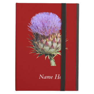 iPad Powis - Thistle and Name iPad Air Case