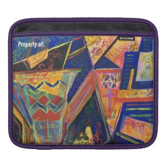 iPad Primitive Art Petroglyph Sleeve iPad Sleeves