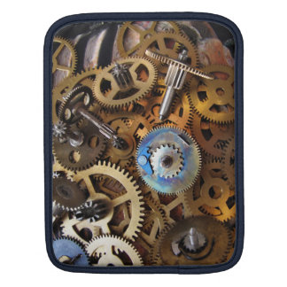 ipad protection Steampunk Brass Gear Sleeve