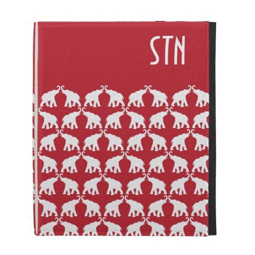 iPad rojo del elefante mini