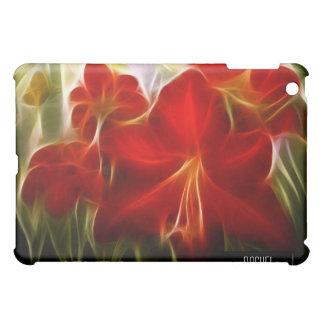 iPad rojo del fractal del Amaryllis