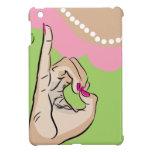 iPad rosado y verde de la vida de la hermandad de  iPad Mini Carcasa