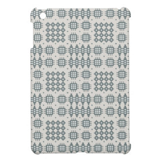 iPad Savvy Case: Grey, Welsh Tapestry Pattern iPad Mini Case