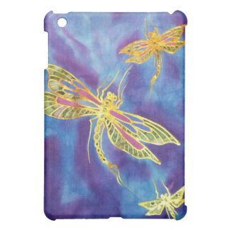 IPad Silk Dragonfly Painting Case Case For The iPad Mini