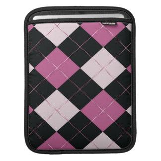 iPad Sleeve -  Argyle SQ  - DollHouse