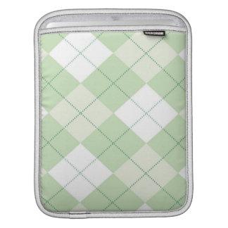 iPad Sleeve -  Argyle SQ  - Grass