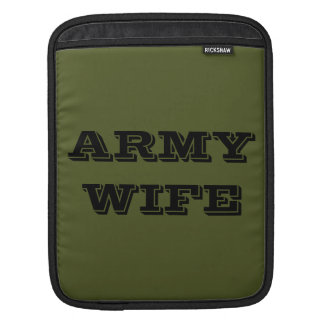 Ipad Sleeve Army Wife