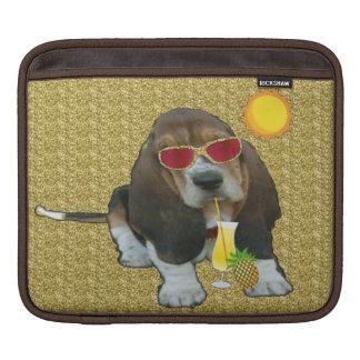 Ipad Sleeve Baby Basset Hound Summer Time