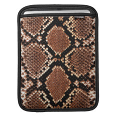 Ipad Sleeve -  Boa Snakeskin at Zazzle