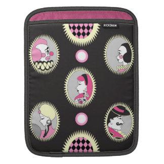 iPad sleeve Circus Cameo print