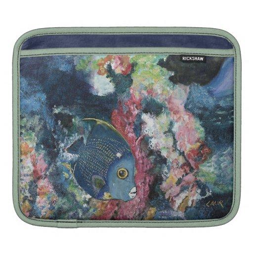 iPad Sleeve - French Angelfish