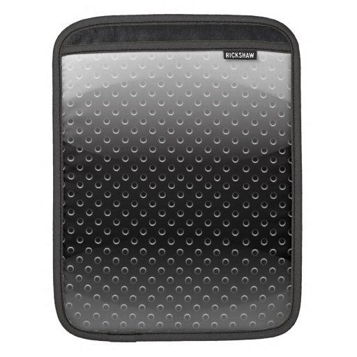 iPad Sleeve glossy metal grid
