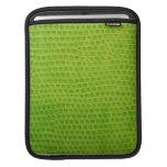 iPad Sleeve -  Green Boa Snakeskin