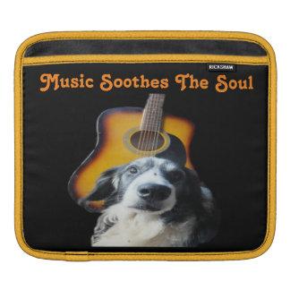 Ipad Sleeve Guitar Dog