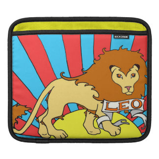iPad sleeve Leo the Lion zodiac sunrise