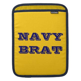 Ipad Sleeve Navy Brat