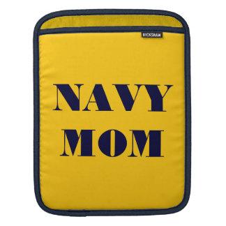 Ipad Sleeve Navy Mom