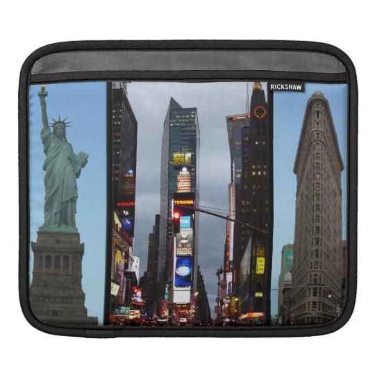 iPad Sleeve New York Landmarks Souvenir