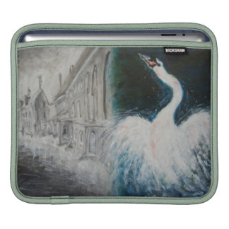 """iPad Sleeve - Oil Painting """"In Distant Country"""""""
