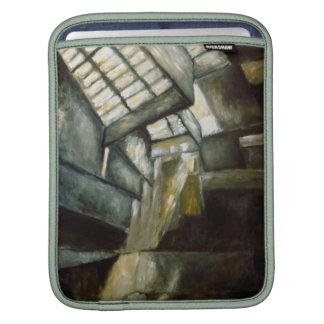 """iPad Sleeve - Oil Painting """"Museum Interior"""""""
