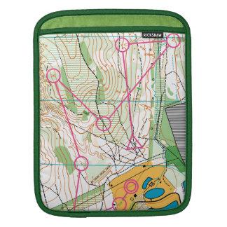 Ipad Sleeve - orienteering map