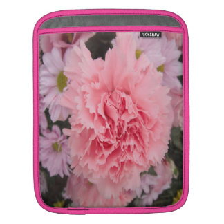 Ipad Sleeve Piink Carnation Beauty