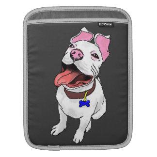 iPad sleeve Pixellated Pit Bull Puppy